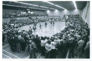 Kampioenswedstrijd Animo-Donitas in stampvolle Ckanhal 1981