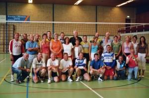 'Afscheidswedstrijd' CKanhal' 2007 met oud Animo spelers en oud Olympus speelsters