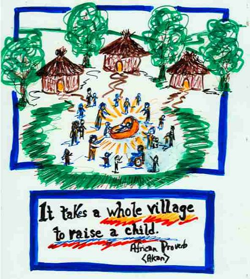 IT TAKES A WHOLE VILLAGE TO RAISE A CHILD – Inclusion Press